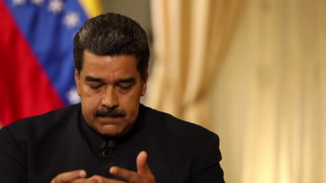 Nicolas Maduro accusing members of the US government of trying to persuade members of the Venezuelan military to rebel against him