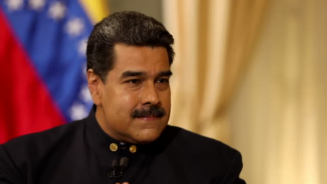 Nicolas Maduro saying Donald Trump's government have requested 'billions of dollars from Venezuelan bank accounts and billions of dollars worth of...