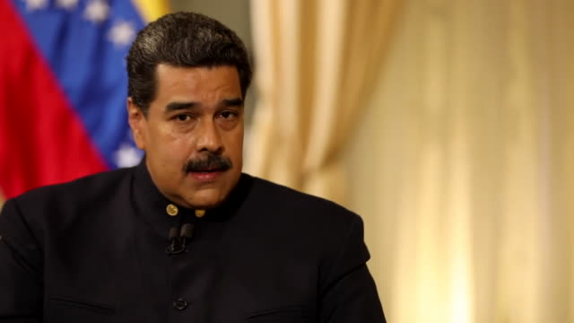 Nicolas Maduro saying he believes the Ku Klux Klan 'rules the United States'