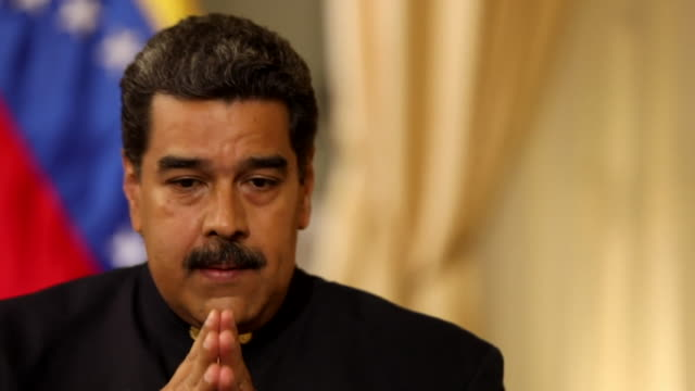 Nicolas Maduro saying he 'expects more' of European countries and that he 'hopes they listen to us'