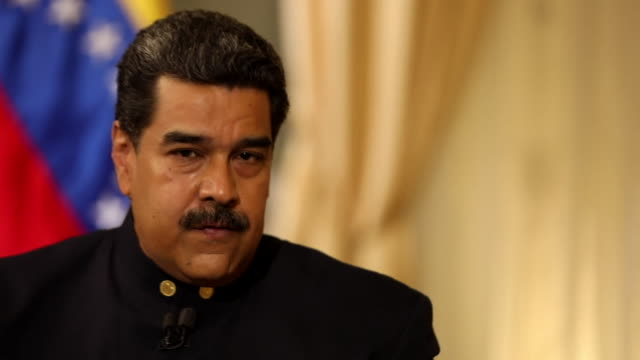 Nicolas Maduro saying he is not in power for personal reasons and that he supports the revolution and he will 'go beyond words till the end'