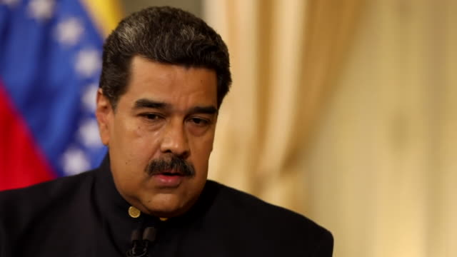 Nicolas Maduro saying no more than 10 governments align themselves with Donald Trump and recognise Juan Guaido as leader of Venezuela