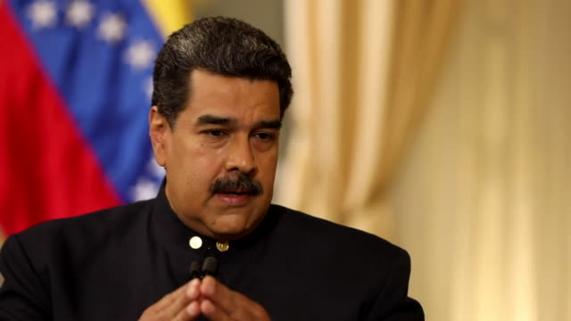 Nicolas Maduro saying the aid from the US 'is a show' and that the governments of the USA and Colombia are working together to 'humiliate the...