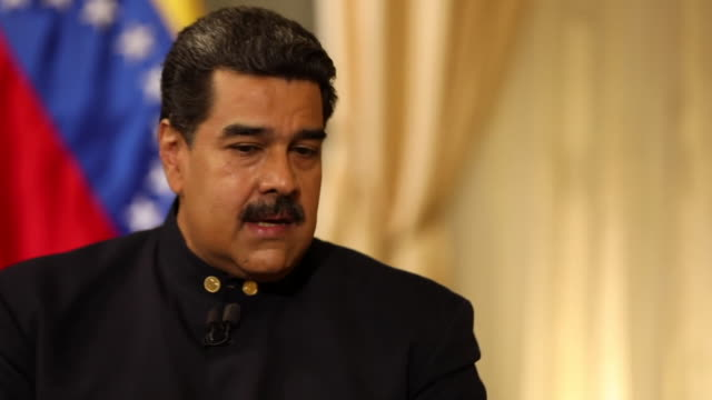 Nicolas Maduro saying the opposition has 'all the freedom to march as many times as they want' and that Venezuela has 'a dynamic democracy'