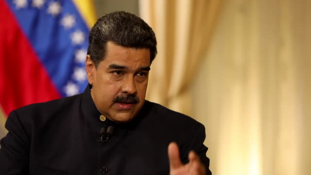 Nicolas Maduro saying the social health system will reach any sick Venezuelan citizen and that the country has a medicine distribution system 'that...