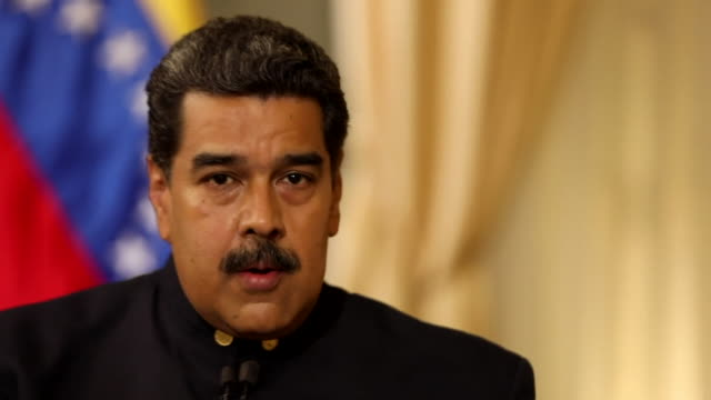 Nicolas Maduro saying the statements and the communications from the EU are 'a reproduction of what has been said by the Venezuelan extreme right'