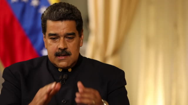 Nicolas Maduro saying the Venezuelan government would not use force to prevent the opposition parties from helping to bring aid across the border