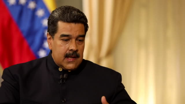 Nicolas Maduro saying the Venezuelan people support his government as otherwise 'we would not have won 23 elections out of 25'