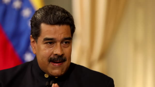Nicolas Maduro suggesting the USA would pay no interest to the plight of Venezuela if it wasn't for their oil reserves