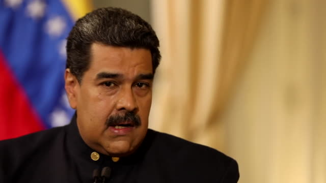 Nicolas Maduro talking about the supposed 'economic war' Venezuela has had to endure from outside governments