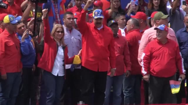nicolas maduro tells us president donald trump that he is being deceived by his cabinet and encourages the venezuelan youth to join the army - maduro stock videos & royalty-free footage
