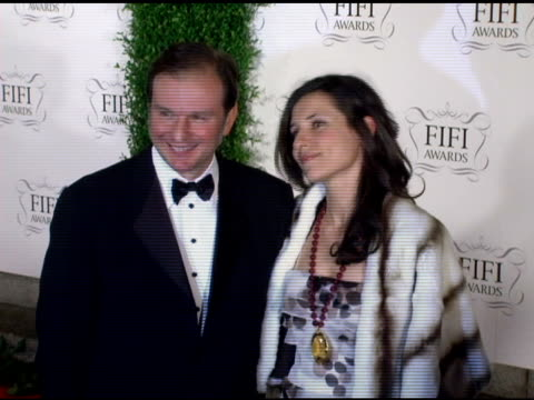 nicolas mirzayantz and princess alexandra of greece at the 34th annual fifi awards presented by the fragrance foundation at the hammerstein ballroom... - hammerstein ballroom bildbanksvideor och videomaterial från bakom kulisserna