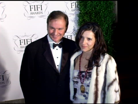 Nicolas Mirzayantz and Princess Alexandra of Greece at the 34th Annual Fifi Awards Presented by the Fragrance Foundation at the Hammerstein Ballroom...
