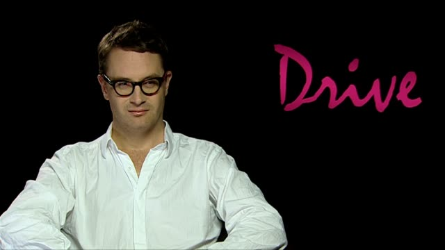 nicolas winding refn on how he is a fetish film maker at the drive interviews at london england - fetishism stock videos & royalty-free footage