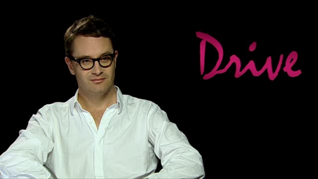 nicolas winding refn on ryan gosling and his performance at the drive interviews at london england. - ryan gosling stock videos & royalty-free footage