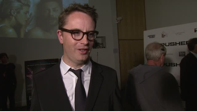 Nicolas Winding Refn on the adaptation drugs Agyness Deyn at Pusher Gala Screening at Hackney Picturehouse on October 04 2012 in London England