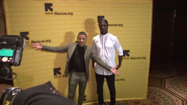 Nicolay Nico Sereba Vincent Vinz Dery at 2015 International Rescue Committee Freedom Award Benefit at Waldorf Astoria Hotel on November 04 2015 in...