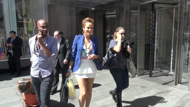 nicole ari parker outside the vh1 studio nicole ari parker outside the vh1 studio on may 18 2012 in new york new york - vh1 stock videos & royalty-free footage
