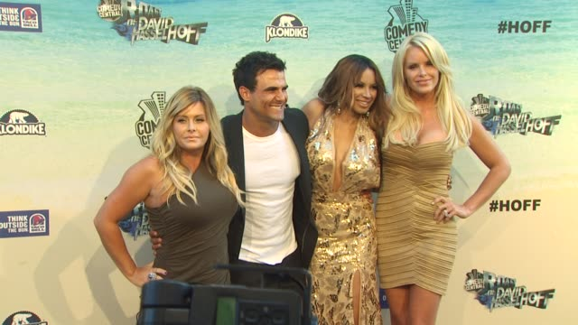nicole eggert, jeremy jackson, traci bingham, gena lee nolin at the the comedy central roast of david hasselhoff at culver city ca. - traci bingham stock videos & royalty-free footage