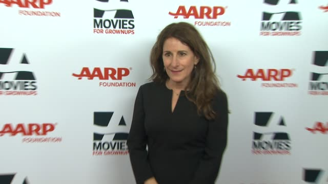 nicole holofcener at 13th annual aarp's movies for grownups awards gala at regent beverly wilshire hotel on in beverly hills, california. - regent beverly wilshire hotel stock videos & royalty-free footage