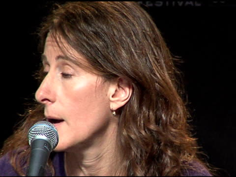 nicole holofcener at the 2006 sundance film festival friends with money press conference on january 20 2006 - money press stock videos and b-roll footage
