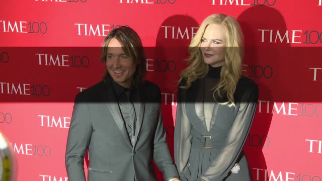 nicole kidman and keith urban at the 2018 time 100 gala at frederick p rose hall jazz at lincoln center on april 24 2018 in new york city - nicole kidman stock videos & royalty-free footage
