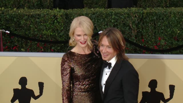 Nicole Kidman and Keith Urban at the 24th Annual Screen Actors Guild Awards at The Shrine Auditorium on January 21 2018 in Los Angeles California