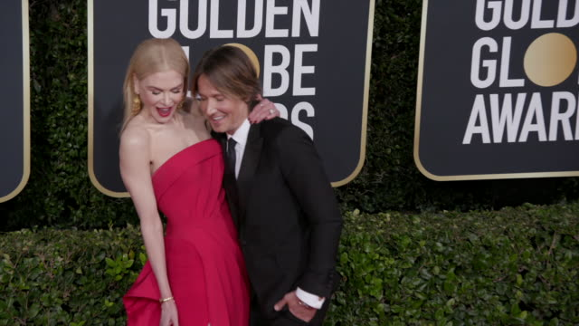 vídeos y material grabado en eventos de stock de nicole kidman and keith urban at the 77th annual golden globe awards at the beverly hilton hotel on january 05 2020 in beverly hills california - the beverly hilton hotel