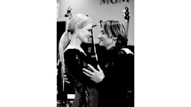 nicole kidman and keith urban attend the 54th academy of country music awards at mgm grand garden arena on april 07, 2019 in las vegas, nevada. - keith urban stock videos & royalty-free footage