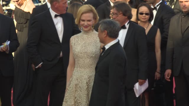 Nicole Kidman Ang Lee Jerry Lewis and Heidi Klum Nicole Kidman and Ang Lee at 'Nebraska' Red Carpet at Palais des Festivals on May 23 2013 in Cannes...