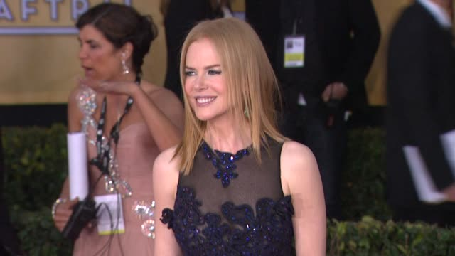 Nicole Kidman at 19th Annual Screen Actors Guild Awards Arrivals 1/27/2013 in Los Angeles CA