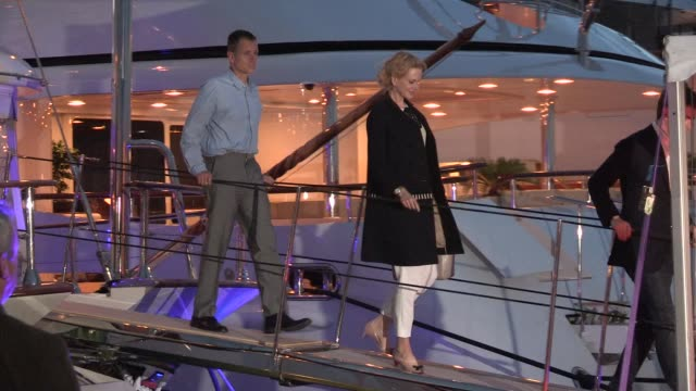 nicole kidman at celebrity sightings on may 17 2013 in cannes france - nicole kidman stock videos & royalty-free footage