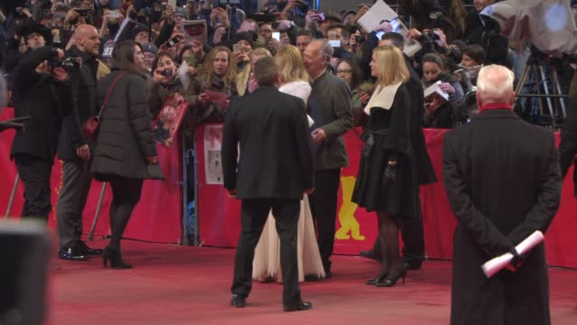 nicole kidman at 'queen of the desert' red carpet 65th berlin film festival at berlinale palast on february 06 2015 in berlin germany - nicole kidman stock videos & royalty-free footage