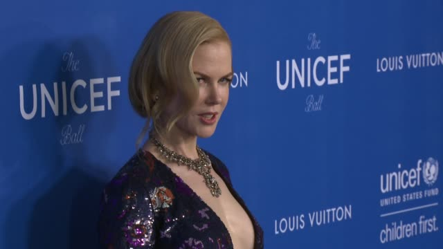 Nicole Kidman at Sixth Biennial UNICEF Ball Honoring David Beckham and CL Max Mikias Presented by Louis Vuitton in Los Angeles CA