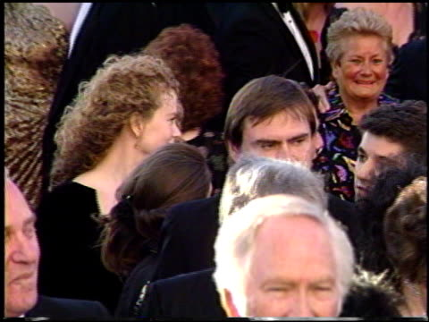 nicole kidman at the 1991 academy awards at the shrine auditorium in los angeles california on march 25 1991 - nicole kidman stock videos & royalty-free footage