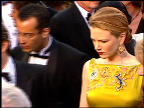 nicole kidman at the 1997 academy awards arrivals at the shrine auditorium in los angeles, california on march 24, 1997. - nicole kidman stock videos & royalty-free footage