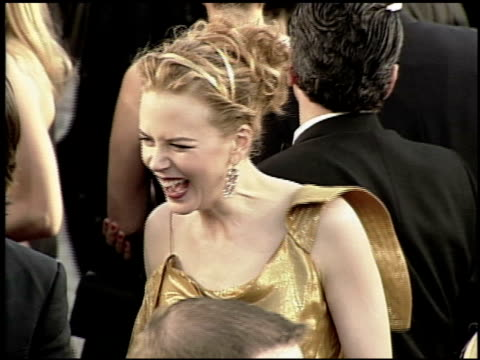 Nicole Kidman at the 2000 Academy Awards at the Shrine Auditorium in Los Angeles California on March 26 2000