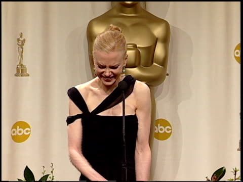 nicole kidman at the 2003 academy awards at the kodak theatre in hollywood california on march 23 2003 - nicole kidman stock videos & royalty-free footage