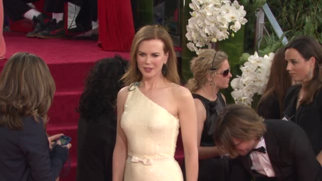 Nicole Kidman at the 68th Annual Golden Globe Awards Arrivals Part 2 at Beverly Hills CA
