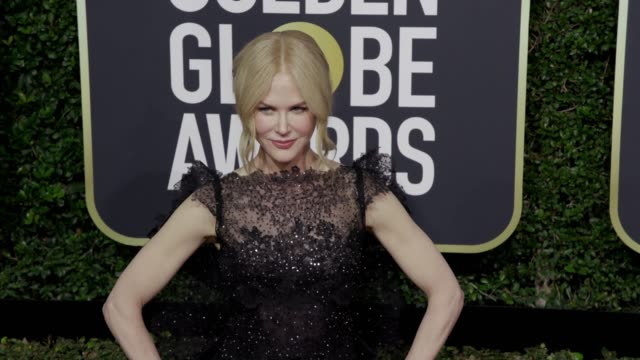 Nicole Kidman at the 75th Annual Golden Globe Awards at The Beverly Hilton Hotel on January 07 2018 in Beverly Hills California