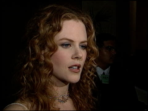 Nicole Kidman at the Artist Rights Foundation Arrivals at the Beverly Hilton in Beverly Hills California on April 17 1998