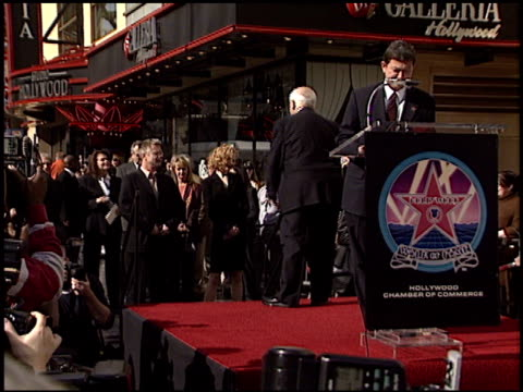 Nicole Kidman at the Dedication of Nicole Kidman's Walk of Fame Star at Hollywood Boulevard in Hollywood California on January 13 2003