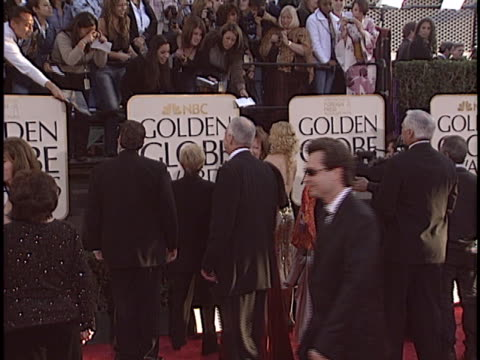 nicole kidman at the golden globes 2004 at beverly hilton hotel, beverly hills in beverly hills, ca. - the beverly hilton hotel stock videos & royalty-free footage