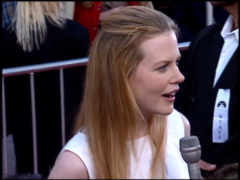 stockvideo's en b-roll-footage met nicole kidman at the 'mission impossible' premiere on may 20 1996 - 1996