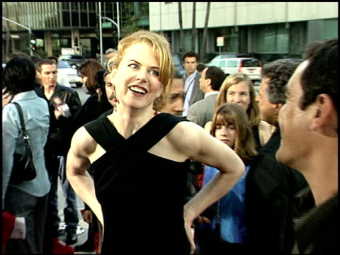 Nicole Kidman at the 'Moulin Rouge' Premiere at Academy Theater in Beverly Hills California on May 16 2001