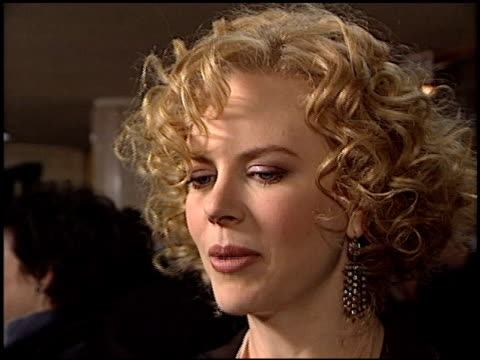 Nicole Kidman at the Premiere of 'The Hours' on December 18 2002