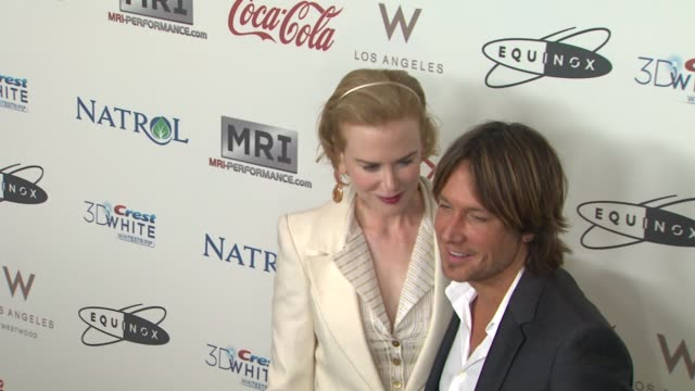 nicole kidman, keith urban at cw3pr presents gold meets golden at equinox sports club hosted by nicole kidman 1/12/2013 in los angeles, ca. - keith urban stock videos & royalty-free footage