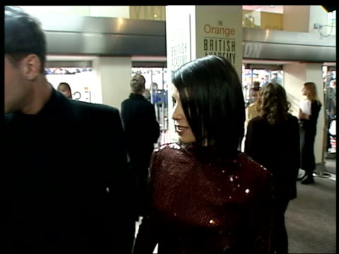 Nicole Kidman romance speculation LIB The Odeon Jude Law and actress wife Sadie Frost arriving at BAFTA award ceremony