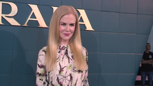 nicole kidman storm reid and more front row for the prada ready to wear spring summer 2020 fashion show in milan milan italy on wednesday september... - nicole kidman stock videos & royalty-free footage
