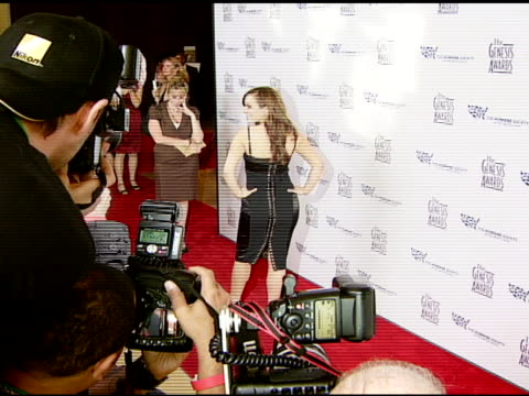 Nicole Lapin at the 2008 Genesis Awards at the Beverly Hilton in Beverly Hills California on March 30 2008